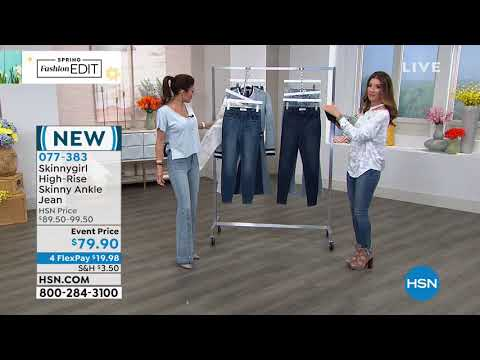 HSN | Skinnygirl Jeans by Bethenny Frankel . http://bit.ly/2WCYBow