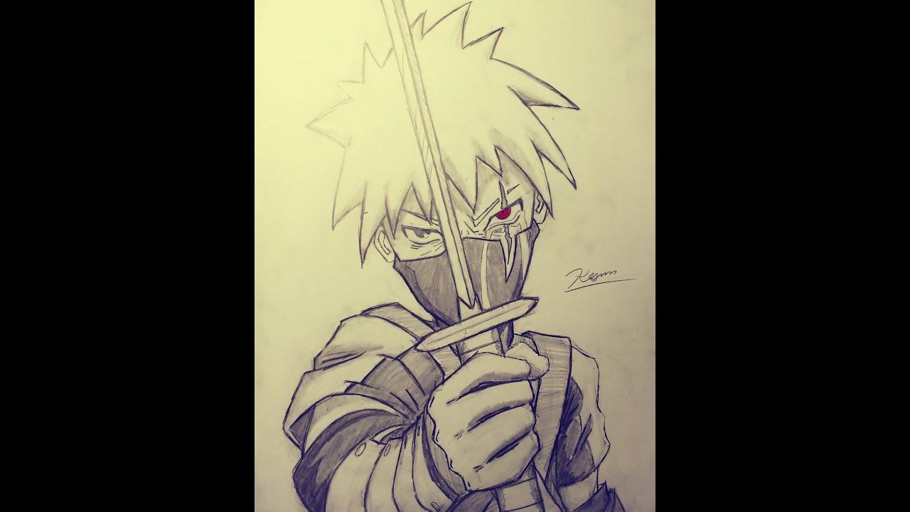 Drawing Kid Kakashi - ...
