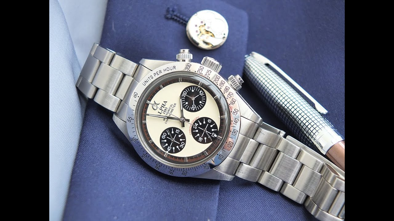 Alpha Paul Newman Daytona Watch Review Watch It All About