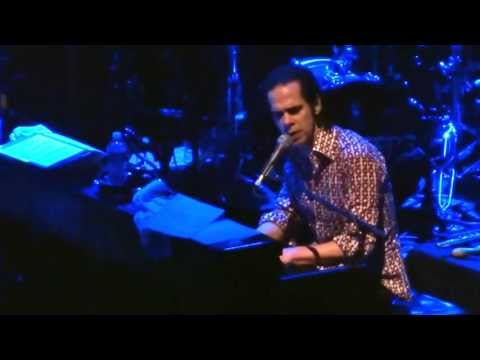 Nick Cave - Love Letter - Paramount Theater, Seattle, 4/7/13