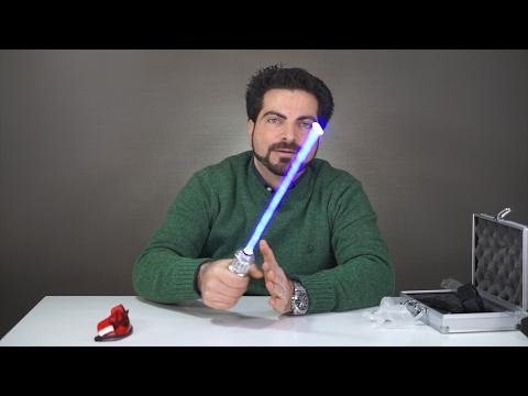 Questa spada Laser TAGLIA qualsiasi cosa?!