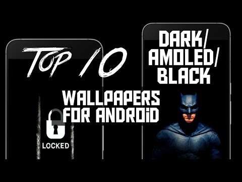 Top 10 Dark/Amoled/Black Wallpapers For Android