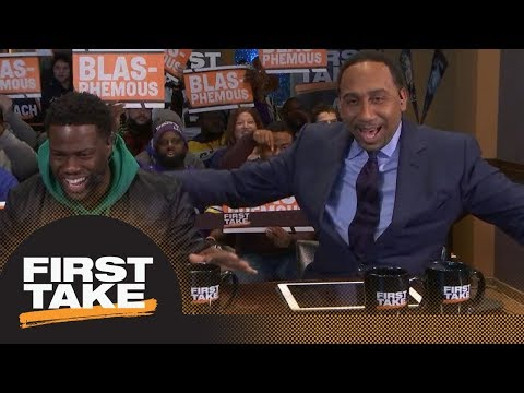 Stephen A., Max and Molly make shocking Super Bowl LII predictions | First Take | ESPN