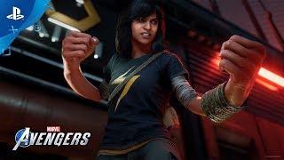 Мстители Marvel | Трейлер «Камала Хан растёт» | PS4