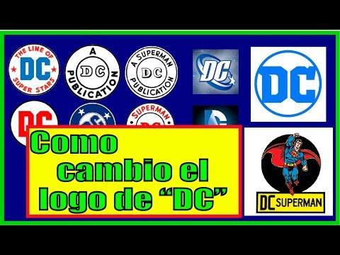 EVOLUCIÓN DEL LOGO DE DC /1940-2016 / OMAR CORREA