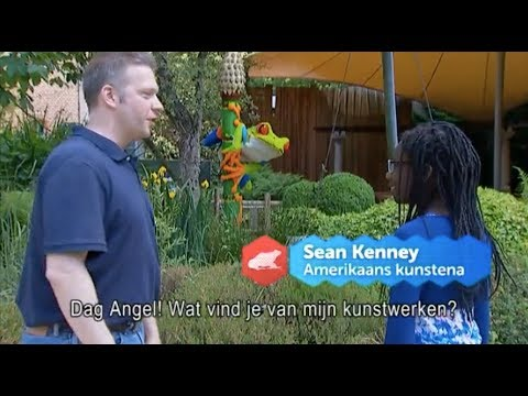 "Sean Kenney's Nature Connects on ""Children's News"" in Antwerp, Belgium"