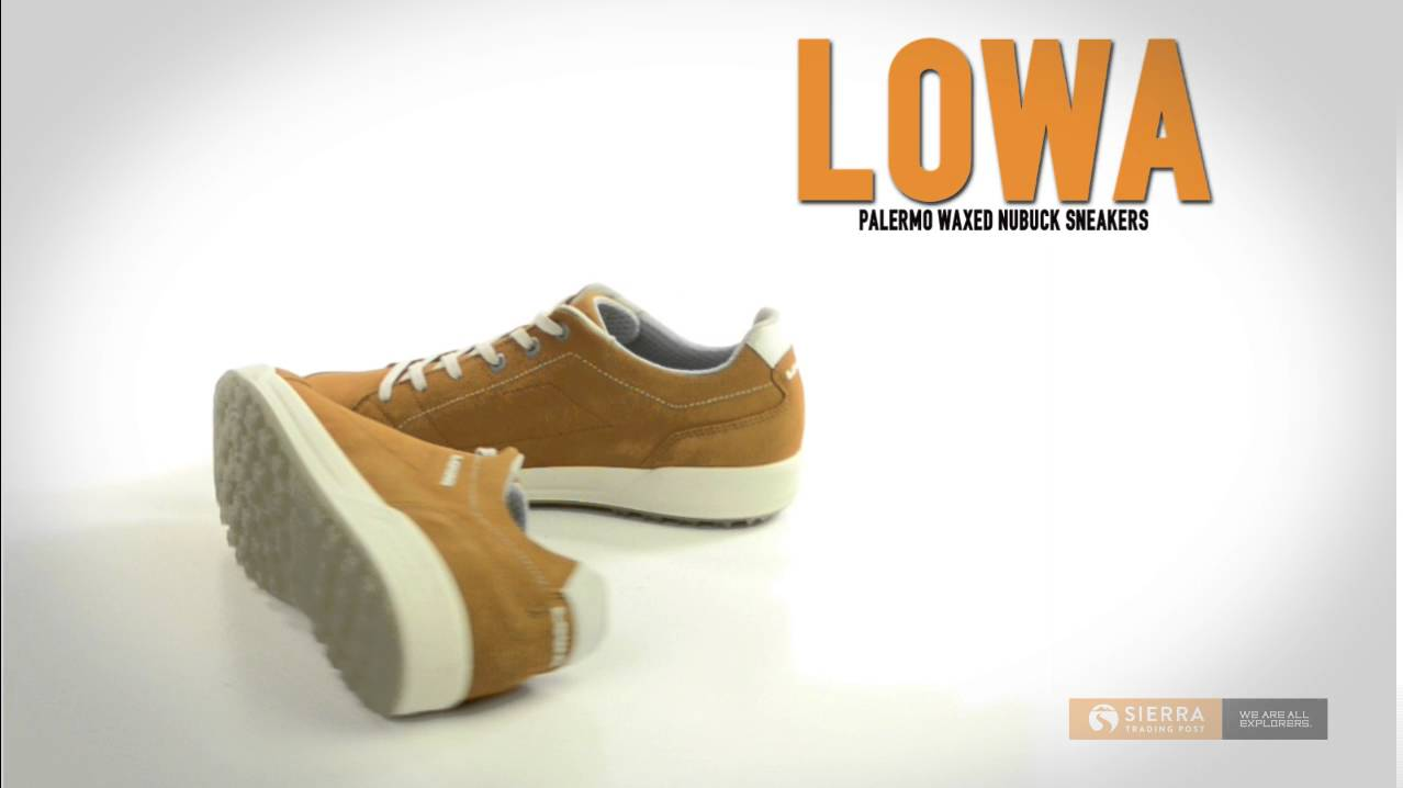 9d55ce575b Lowa Palermo Suede Sneakers (For Men) - YouTube