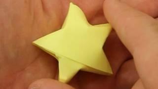 Como fazer uma estrela de origami