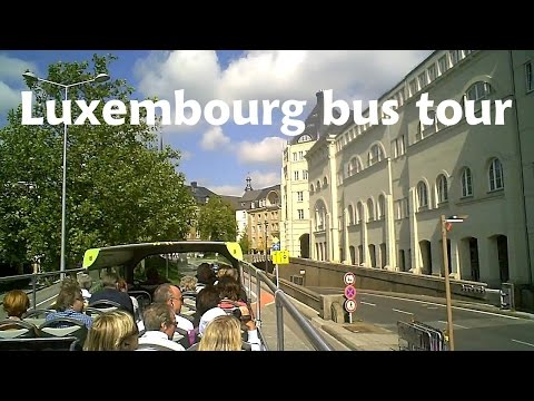 LUXEMBOURG Capital City - bus tour