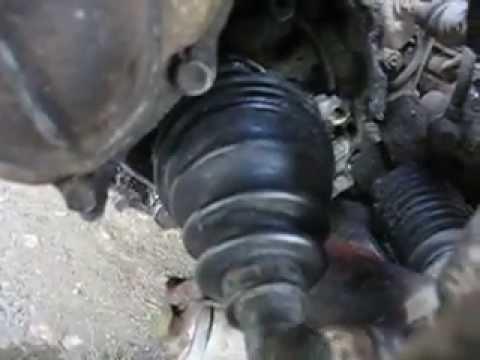 Люфт привода в КПП 4A-F Toyota Carina II