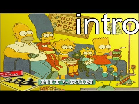 Los Simpsons Hit And Run: Intro.