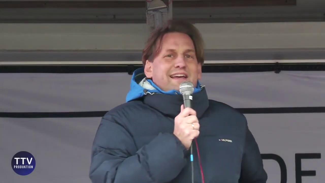 Pastor Christian Stockmann: Steht endlich auf! + Christen im Widerstand + Darmstadt 26.9.2020
