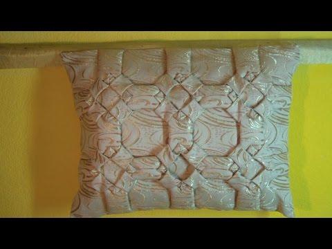 Декоративная подушка буфы