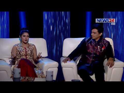 Eid Adda on 2nd September, 2017 with Porimoni and Jayed khan on NEWS24