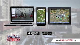 Rail Nation - Mobile App | Trailer Short EN