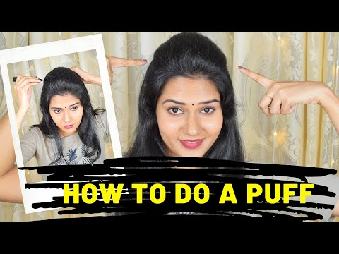 how-to-make-perfect-puff-hairstyle-|puff-hairstyle-|-quick-easy-everyday-hairstyles