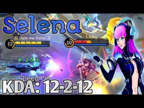 Selena It's Op! Best Build & Emblem Set | Mobile Legends: Bang Bang thumbnail