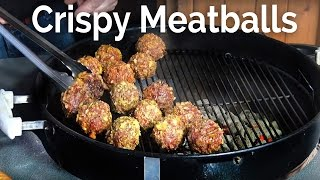 Crispy Meatballs At the Pit