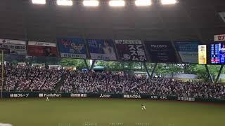 2018年6月16日撮影 西武 vs. 中日@メットライフドーム.