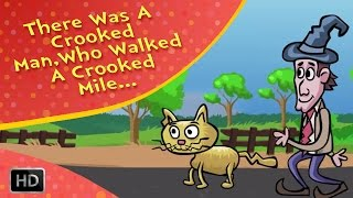 There was a Crooked Man - Nursery Rhyme - Kids Songs - Baby Songs - English Rhymes