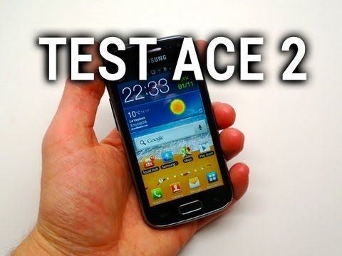 Test du Samsung Galaxy Ace 2 - par Test-Mobile.fr