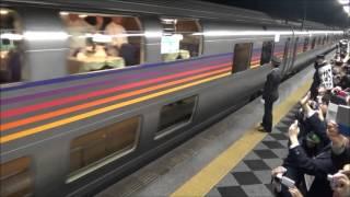 カシオペア札幌行最終列車を上野駅で撮影したものです。朝の9時から並...