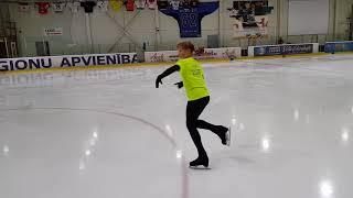 Сборы А. Рябинина | Постановка сбалансированной программы за 4 ч. Фигурное катание | Figure skating