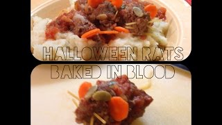 Halloween Rats Baked In Blood?