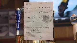 "Mysterious men leave $5,000 ""tip for Jesus"" at Fairfield bar"