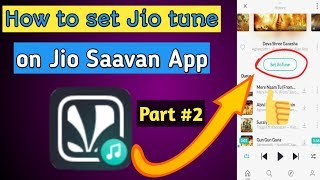 How to set Jio tune in Jio saavn app | How to set Jio tune in jio saavn | Unavailable Jio tune set thumbnail