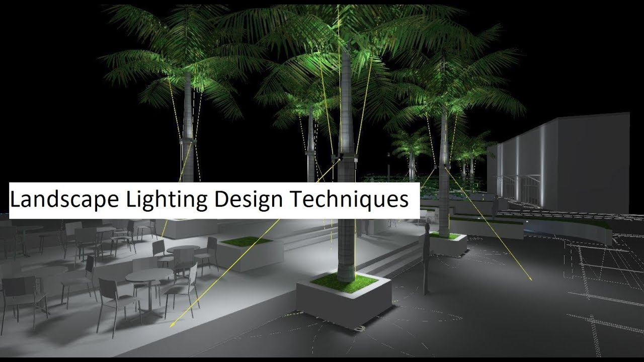 Landscape lighting design techniques course youtube
