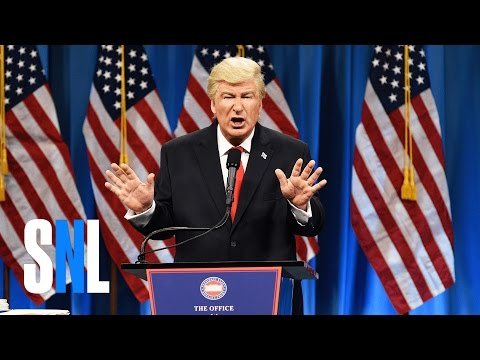 Thumbnail: Donald Trump Press Conference Cold Open - SNL