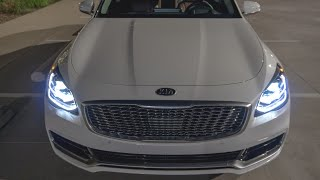 NO JOKE!! This Is A True Luxury Car! | 2019 Kia K900 AWD Review | Forrest's Auto Reviews