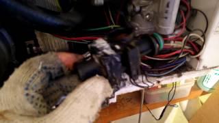 Демонтаж датчика протока воды на ГВС NYLON 66 для котлов Daewoo