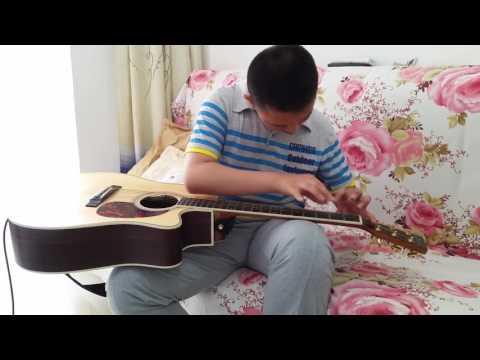 (Erik Mongrain) airtap - Liu Jiazhuo