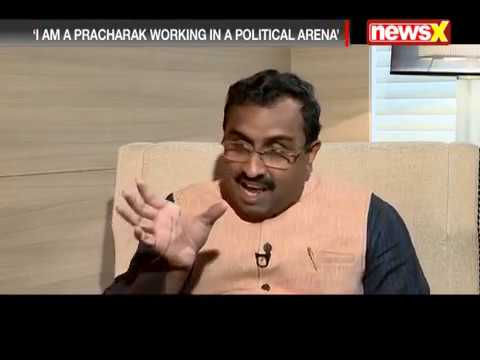 RSS close to my heart, political world artificial: Unmissable interview with Ram Madhav