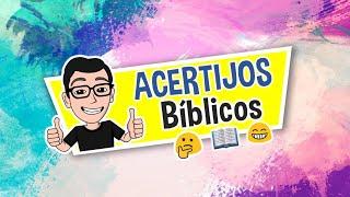 ACERTIJOS BÍBLICOS ¿QUIÉN SOY? #8 | TEST BÍBLICO