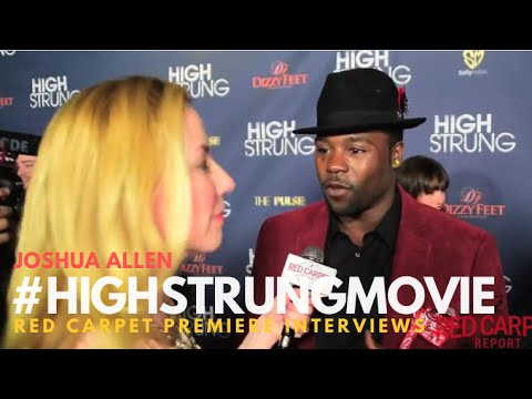 "Joshua Allen #SYTYCD at the Red Carpet Premiere for ""High Strung"" #‎HighStrungMovie"