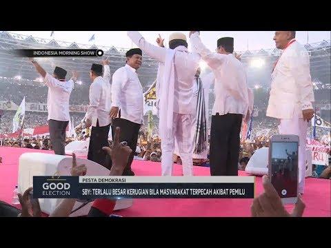 Good Election: Menurut SBY, Kampanye Akbar Prabowo-Sandi Tidak Inklusif