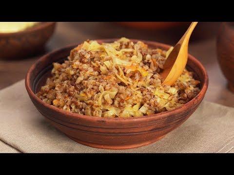 Просто очень вкусно! Гречневая каша с капустой за 30 минут. Рецепт от Всегда Вкусно!