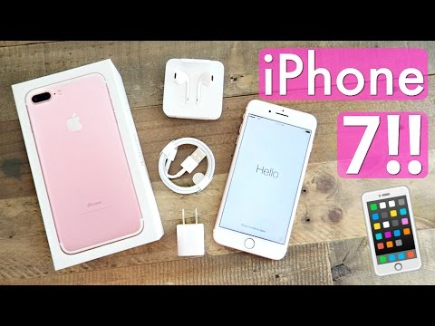 iPhone 7 PLUS Unboxing!! 256GB Rose Gold!!
