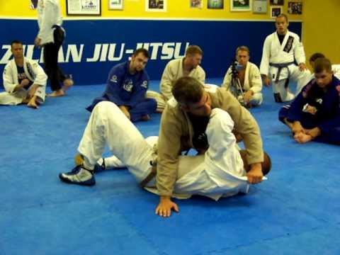 8th Degree BJJ Black Belt Carlos Machado Shows a Sneaky Gi Choke