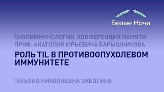 Роль TIL в противоопухолевом иммунитете(, 2016-08-11T07:01:21.000Z)