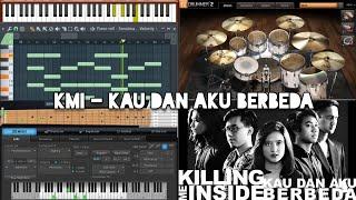 Killing Me Inside - Kau dan Aku Berbeda (Karaoke) FL Studio