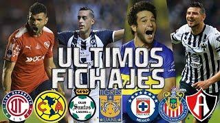 ULTIMOS FICHAJES OFICIALES LIGA MX CLAUSURA 2019 | Y RUMORES | CRUZ AZUL | AMERICA | CHIVAS Y MAS!!