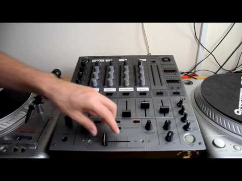 How To Clean Pioneer DJM 600 Mixer Faders