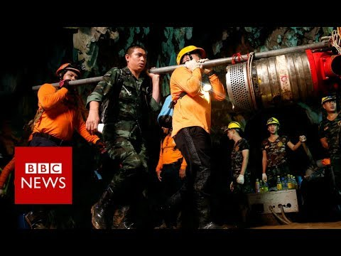 Thailand Cave: How the Thai cave boys were rescued - BBC News