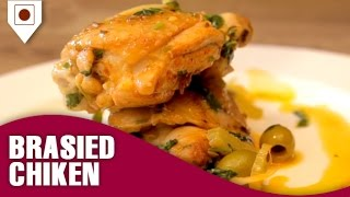 How To Make Braised Chicken With Fennel? | Italian Dishes | Easy Cook With Food Junction