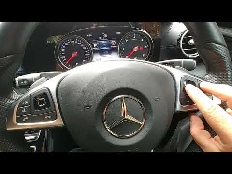 Correct and easy way to access Mercedes oil/ service reset menu W213
