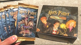 OPENING HARRY POTTER HOGWARTS GAME CARDS!